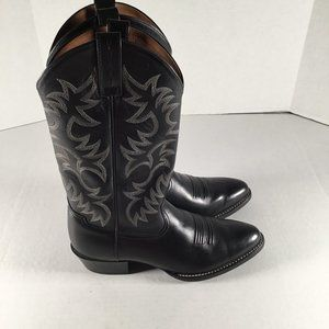 ARIAT Men's Black Leather Cowboy Western Boots